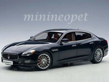 AUTOart 75807 2015 MASERATI QUATTROPORTE GTS 1/18 DIECAST MODEL CAR PASSION BLUE