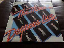 THE THREE DEGREES ~ Live UK Vinyl LP 1975