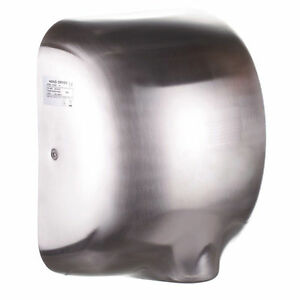 Freedom Ecoflow Hand Dryer Brushed Satin