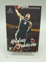 Keldon Johnson Rookie Card Chronicles Luminance 2019-20 #140 San Antonio Spurs