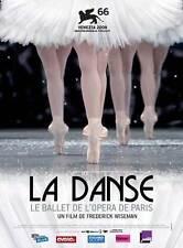 LA DANSE - LE BALLET DE L'OPARA DE PARIS Movie MINI Promo POSTER French