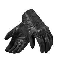 Rev'it! Monster 2 Motorcycle Touch Screen Retro Gloves Black | Rev it Revit