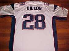Corey Dillon N.E Patriots NFL AFC East Reebok White Football Jersey 56 New