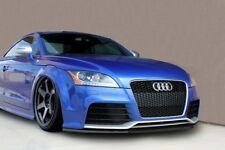 For Audi TT RS Front Bumper Lip Cup Skirt Lower spoiler Chin Valance Splitter