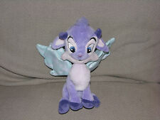 NEOPETS FAERIE FAIRY IXI STUFFED PLUSH ANIMAL TOY DOLL PURPLE LAVENDER WING 2004
