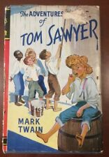 The Adventures Of Tom Sawyer By Mark Twain HC 'Undated' Vintage Rare Edition