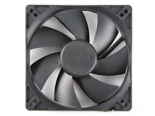 120mm Computer Case Cooling Fan with LP4 Adapter - Sleeve Bearing, Silent