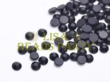 500pcs Ss20 5mm 12 Facets DMC Hotfix Iron on Crystal Rhinestones Black