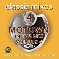 DMC Classic Mixes - Motown In The Mix Vol 4 DJ Music CD Remix Special Edition