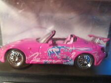 GREEN LIGHT HOLLYWOOD FAST&FURIOUS Suki's Pink 2001 HONDA S2000 Scale 1/43 -NEW!