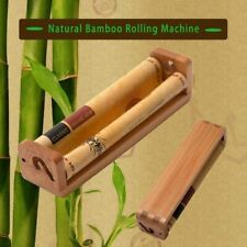 King size Bamboo Rolling Machine Blunt Cigar Cigarettes Joint Roller 110mm