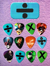 ED SHEERAN Guitar Pick Tin Includes Set of 12 Guitar Picks