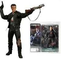 T-800 Terminator 2  Steel Mill Action Figure Toy Model 18cm