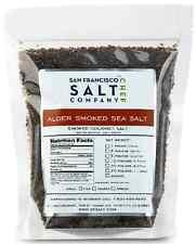 Gourmet Real Red Alderwood Smoked Sea Salt : Fine Grain : 5 LB Sealed SF Salt Co