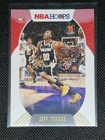 2020-21 Panini NBA Hoops JEFF TEAGUE #128 WINTER PARALLEL Atlanta Hawks