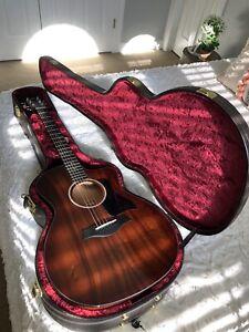 Taylor 224ce-K DLX Grand Auditorium Acoustic-Electric Guitar Case
