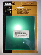 10 Stück (1VE) GYS Vorsatzscheibe außen Standard LCD ERGOTECH 5-9
