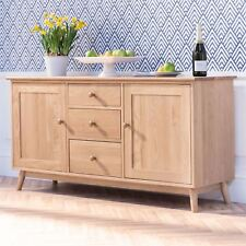 Edvard Olsen Sideboard. Lage Golden Oak sideboard, dovetail joints.ASSEMBLED