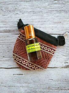 Huile De Parfum patchouli Black 100% naturelle du Rajasthan