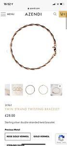Azendi Rose Gold Bracelet