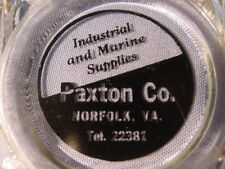 Vintage Paxton Co. Industrial And Marine Supplies Norfolk Virginia Ashtray