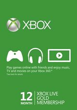 12 MONTHS XBOX LIVE GOLD MEMBERSHIP - QUICK DELIVERY  -  United States VPN