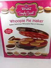 Rival Simply Sweet Whoopie Pie Maker NIB
