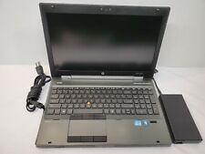 "New listing Hp EliteBook 8560w 15.5"" i7 2.80Ghz 4Gb 256Gb Laptop"