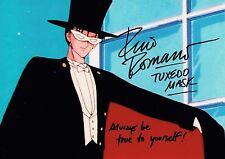 Rino Romano Hand Signed Autograph Photo  Voice of Batman  Tuxedo Man Sailor Moon