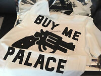 PALACE SKATEBOARDS SS16 BUY ME X-LARGE WHITE TEE T-SHIRT S TRI FERG BLACK GUN XL