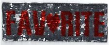Sequin Patch: (Flippable) Favorite