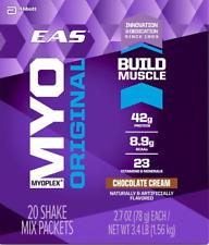 EAS MYOPLEX ORIGINAL Whey Protein ShakesChocolate & Vanilla Cream - 10 Singles