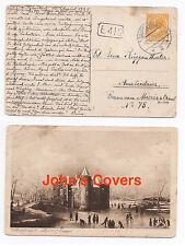 1925 NETHERLANDS Cover DRIEBERGEN To AMSTERDAM Muiderslot Postcard SG279a