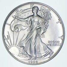 Better Date 1992 American Silver Eagle 1 Troy Oz .999 Fine Silver *854