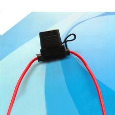 1pcs In-line Medium Blade Fuse Holder Socket Wire 30cm Waterproof