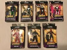 Marvel Legends Avengers Thanos BAF Series Complete Set Of 7 Captain America
