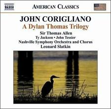 Corigliano: A Dylan Thomas Trilogy, New Music