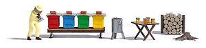 Busch 1179 Ho Kit Beekeeping # New Original Packaging #