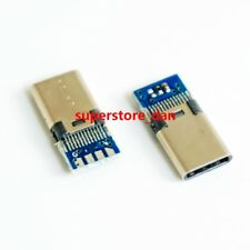 2Pcs Micro USB 3.0 male Type C Socket for repair mobile pc