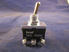 tend T5R-22B 15A 250V On-On Position Toggle Switch (Spring Return-on) 6 Pin