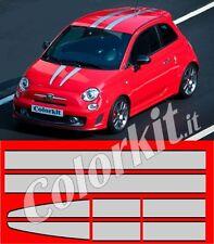 Strisce adesive per Fiat 500 tributo Ferrari by Colorkit Abarth 595