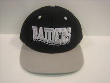 RAIDERS RETRO VINTAGE PLASTIC SNAPBACK CAP