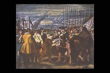 358071 The Surrender Of Breda Diego Velasquez A4 Photo Print