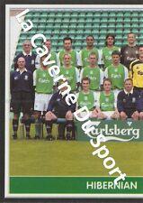 N°214 TEAM 1/2 # SCOTLAND HIBERNIAN.FC STICKER PANINI SCOTTISH LEAGUE 2004