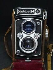 Yashica 24 Camera Dual Lens 1:3.5 1:2.8 f=80mm
