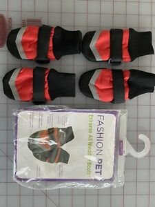 Fashion Pet Extreme All Weather Waterproof Dog Boots - Size XXS Boots -mip