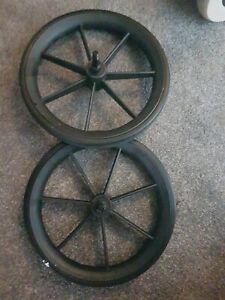 Invacare 315 wheelchair rear wheels fit Lomax,Remploy, Ben,Sunrise  PAIR  3