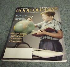 Good Oid Days Magazine October 2014 Issue For Cocker Spaniel Rescue Charity