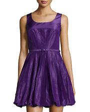 NEW Oscar de la Renta Fit-and- Flare Bubble Cocktail Dress Gown Sz 10 NWT $2,490