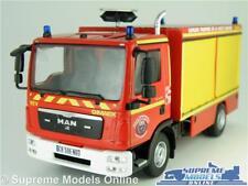 MAN TGL FIRE ENGINE MODEL TRUCK 1:43 SCALE IXO POMPIERS LA HAUTE FRANCE TGM K8